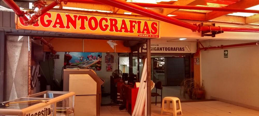 GIGANTOGRAFIAS PERU